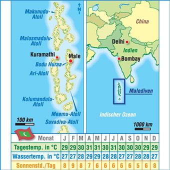 Seychellen Malediven Karte.Karten Malediven
