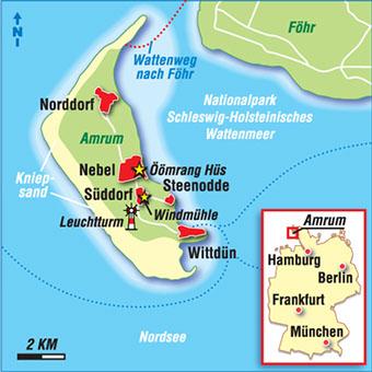 Nordfriesische Inseln Karte.Karten Deutsche Inseln