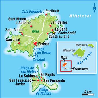 Teneriffa Karte Spanien.Karten Spanische Inseln