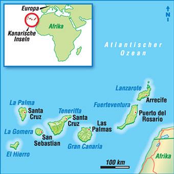Spanische Inseln Karte.Karten Spanische Inseln
