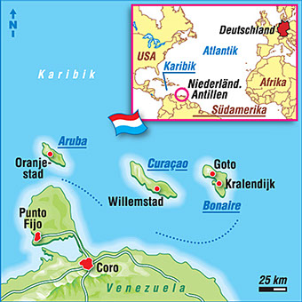 Aruba Karte Karibik.Aruba Karten