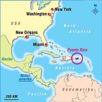Puerto Rico Karten